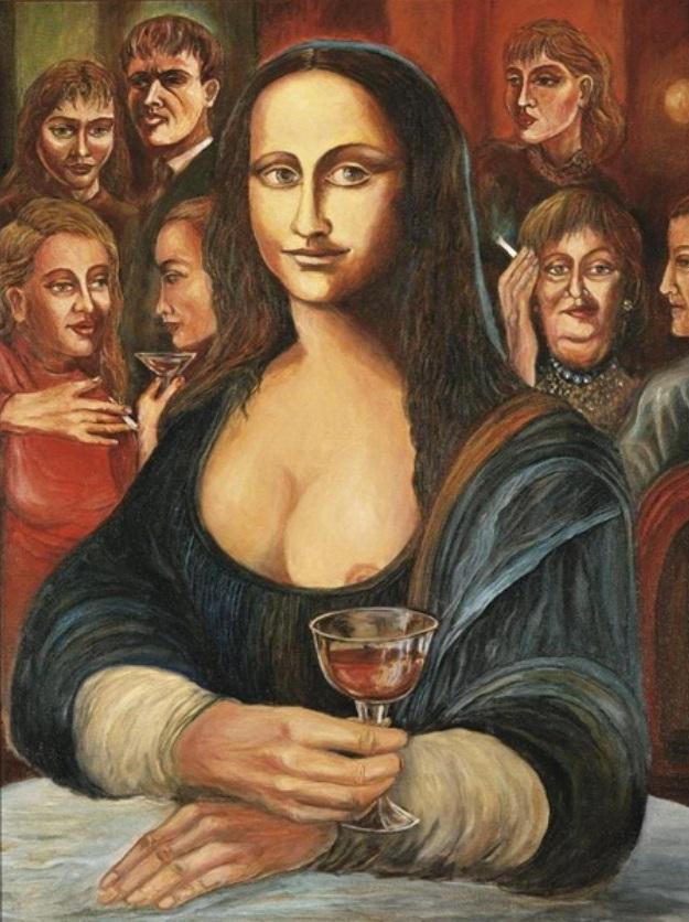 0437 Karel Gott - Mona Lisa s červeným vínem